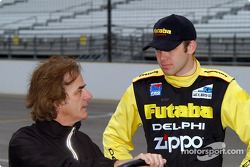 Arie Luyendyk and Ed Carpenter