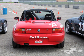 BMW Z3 with full roll cage and five point harness