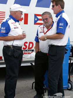 Paddock discussions