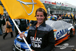 Alain Menu's grid girl
