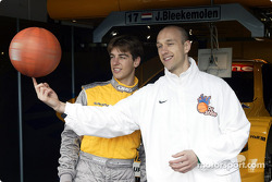 Jeroen Bleekemolen and Pascal Roller