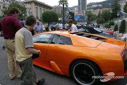 Casino de Monaco parking
