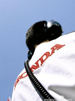 BAR Honda team member