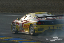 #70 JMB Racing Ferrari 360 Modena: David Terrien, Fabrizio de Simone, Fabio Babini