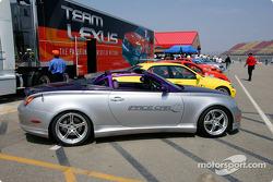 Lexus pace cars
