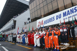 The class of 2003: all the drivers of the 71th edition of the 24 Hours of Le Mans