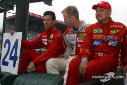 #24 Rachel Welter WR LMP01-Peugeot: Olivier Porta, Yojiro Terada, Gavin Pickering