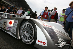 #5 Audi Sport Japan Team Goh Audi R8