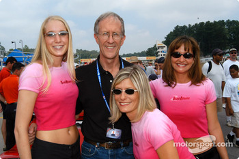Road Atlanta girls with Jim Downing