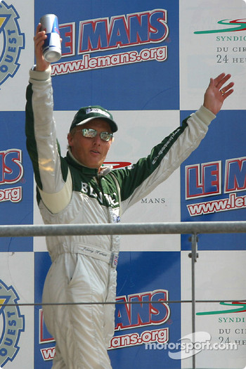 Podium: Johnny Herbert