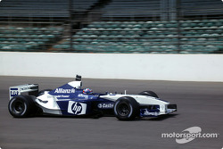 Juan Pablo Montoya in his HP Williams-BMW FW24