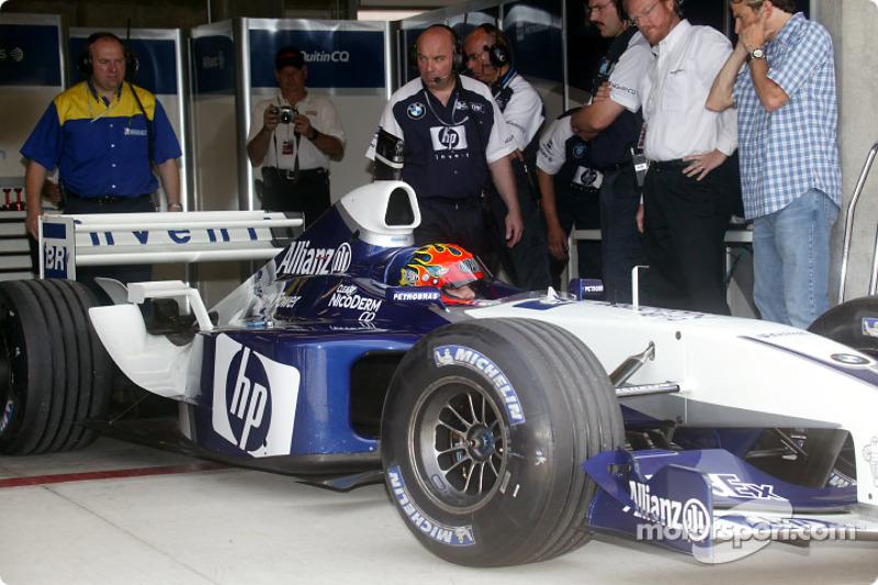 Jeff Gordon im Williams FW24