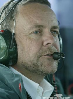 Jaguar team manager Dave Stubb