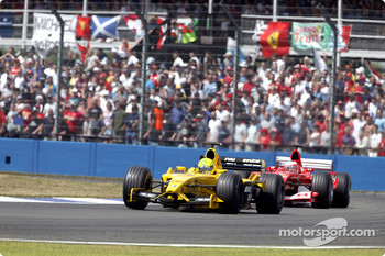 Ralph Firman and Rubens Barrichello