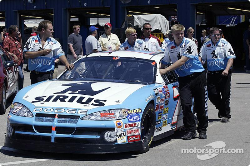 Jimmy Spencer's car