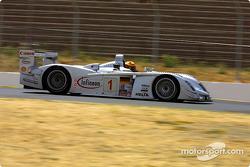 #1 Infineon Team Joest Audi R8: Frank Biela, Marco Werner