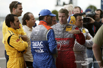 Laurent Aiello, Alain Menu and Peter Dumbreck