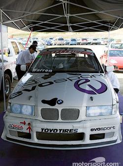 Ralph Warren's car