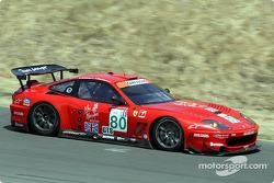#80 Prodrive Ferrari 550 Maranello: Jan Magnussen, David Brabham
