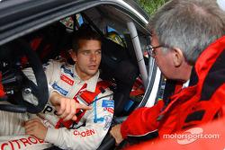 Sébastien Loeb and Jean-Claude Vaucard