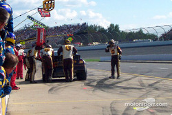 Gas and go for Dale Jarrett