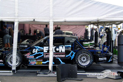 Rockesports Racing paddock area