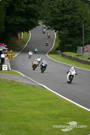 Mat Layt leads the way in the SuperStock class