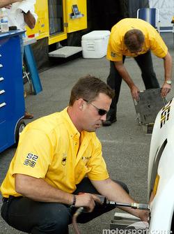 McCann Racing crew hard at work