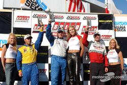 Speed Touring Car podium Bill Auberlen, Jeff Altenburg, Chuck Hemmingson