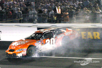 Tony Stewart into the wall