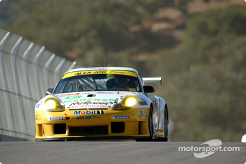 #24 Alex Job Racing Porsche 911 GT3RS: Timo Bernhard, Jorg Bergmeister