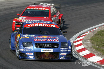 Karl Wendlinger and Peter Dumbreck