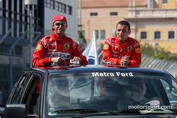 Drivers presentation: David Brabham, Darren Turner