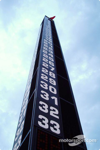 Indianapolis Motor Speedway scoring tower