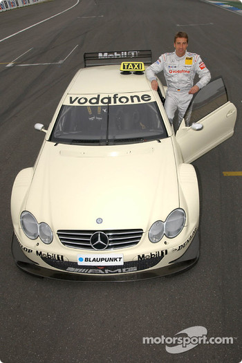 Bernd Schneider drives the AMG-Mercedes CLK race taxi