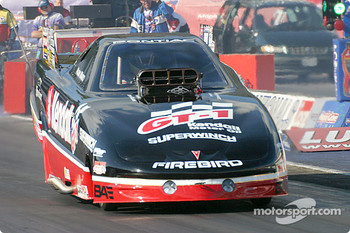 Frank Manzo win in Alcohol Funny Car