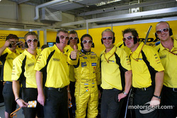 Giancarlo Fisichella and his Kings