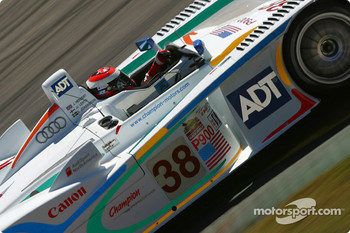 #38 Team ADT Champion Racing Audi R8: Johnny Herbert, JJ Lehto, Stefan Johansson