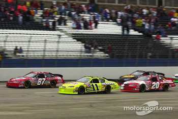 Joe Nemechek leads early on