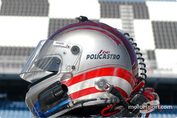 Joe Policastro's helmet