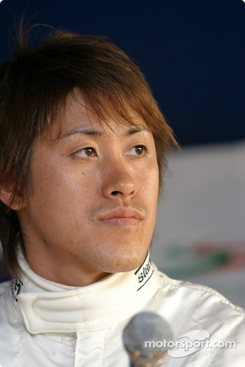 Post-qualifying press conference: Seiji Ara