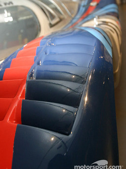 Detail of the 1971 Porsche 917 'long tail'