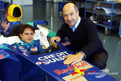 Team  Sauber Petronas signs Felipe Massa: Peter Sauber and Felipe Massa