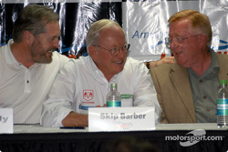 ALMS press conference: Mike Nearly, Skip Barber and Don Panoz