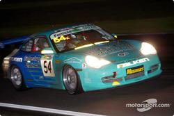 #54 John Teulan Porsche 911 GT3 RC: Paul Morris, Peter Fitzgerald, Scott Shearman, John Teulan