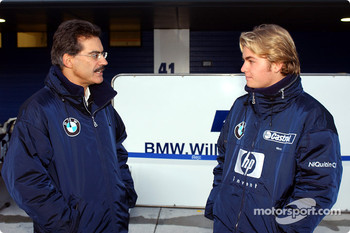 Dr Mario Theissen and Nico Rosberg