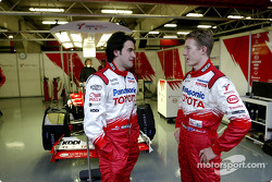 Ricardo Zonta and Ryan Briscoe
