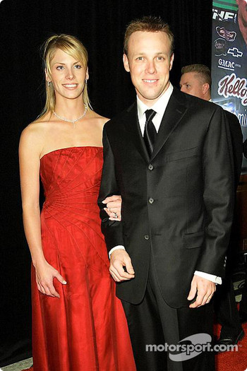 Matt Kenseth with Katie