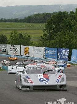 Pace laps: #3 Cegwa Sport-Toyota Fabcar: Darius Grala, Guy Cosmo