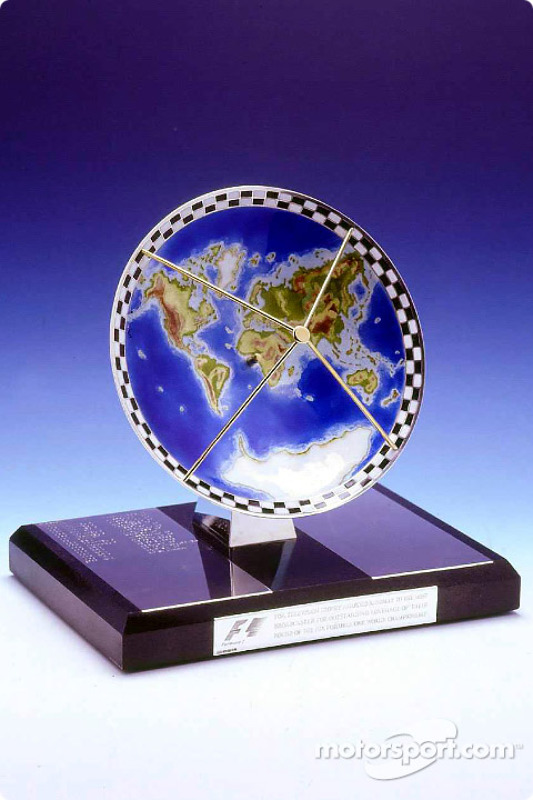 Formula One TV trophy